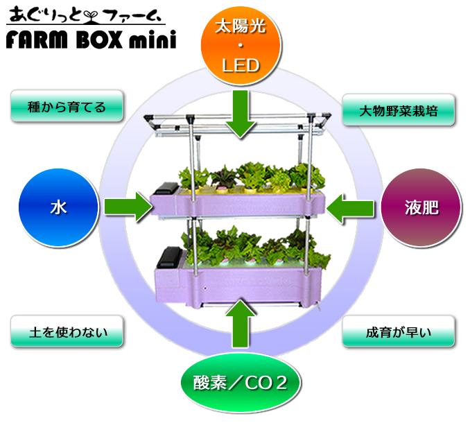 FARM BOX mini図解